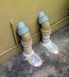 http://polarfoxapp.wordpress.com/.    Hide the pipes with fun feet