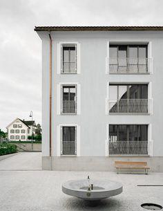 Seiler Linhart - Apartment complex, Jonen 2017. Photos © Rasmus Norlander.