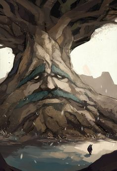 /Ocarina of Time/#1430173 - Zerochan | The Legend of Zelda: Ocarina of Time | Link, Navi, and The Great Deku Tree / Deku by sbalac on deviantART