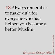 #Inspiration: Make duaa