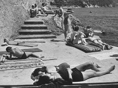 Amalfi Coast, 1954.  Conde Nast Traveler picture.