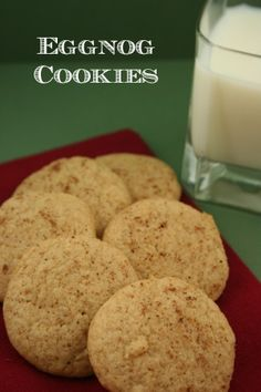 Eggnog Cookies | Christmas Cookie Idea - Moms Need To Know ™