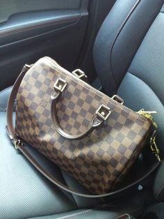 Louis Vuitton Speedy 30 Bandolier  <3 <3 <3