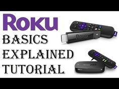 What is Roku? Roku Tutorial - Explaining the Basics of Roku and How it Works! - In this video I explain the different functionalities of a Roku Player and wh. Tv Hacks, Netflix Hacks, Tv Without Cable, Cable Tv Alternatives, Free Tv And Movies, Tv Options, Computer Diy, Roku Streaming Stick, Technology Hacks