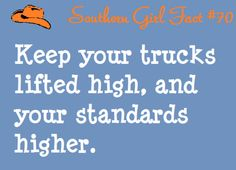 southern girl fact #70