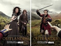 Poster da série Outlander
