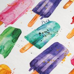 Popsicle jersey Käpynan Fabric