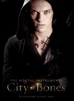 Jamie Campbell Bower as the mysterious Jace Wayland from Immortal Instruments City of Bones