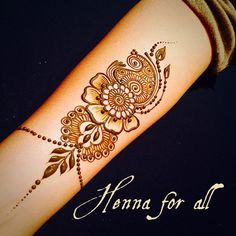 This design was done at premier event! Simple Mehndi Designs, Henna Tattoo Designs, Henna Tattoos, Mehandi Designs, Tattoo Ideas, Henna Arm, Hand Henna, Mehndi Art, Henna Mehndi