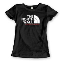 cae2b314 $24.99 Game of Thrones The North Wall TV Show Parody Womens Shirt #Clothes  Game Of