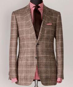 Style & Substance- The Checked Blazer Dapper Gentleman, Gentleman Style, Dapper Dan, Sharp Dressed Man, Well Dressed Men, Blazers, Checked Blazer, Blazer Outfits, Sports Jacket