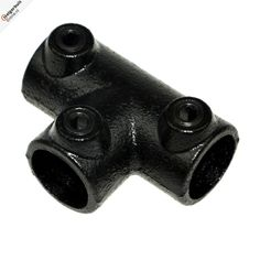 Buiskoppeling - Lang T-Stuk - 26,9mm Zwart
