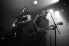 The Brains live @ Les Foufounes Électriques, Montréal, 10/25/2014. Black and white film photography by Francois Carl Duguay. www.laligneaharde.com