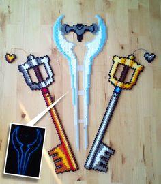All my swords so far, lets see if I'm going to do some more.. Sword of Omens - Thundercats Diamondsword - Minecraft Mickeys Keyblade - Kingdom Hearts Kingdom Key - Kingdom Hearts Energy Sword - Hal...