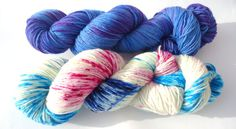 Sock Madness 11 variegated Premium high twist by lakesideyarns