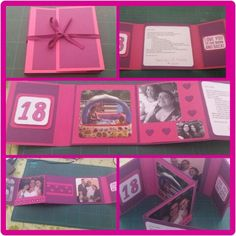 Mini album voor 18 jarige nichtje [ Made by Mandy ]