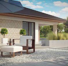 Z301 to wyjątkowy dom z kategorii projekty domów z dachem wielospadowym Parquet Pvc, Small House Design, New House Plans, Outdoor Furniture Sets, Outdoor Decor, Rhone, Home Design Plans, Home Fashion, Planer