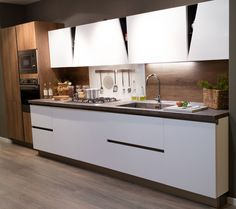 cucina-moderna-con-cappa-a-vista.jpg 384×288 pixel | Cucina | Pinterest