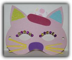 """masque chat """"atelier les petits créateurs écolos """" - créer à la folie"""