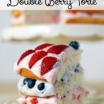 Double Berry Torte Recipe found at Gunny Sack
