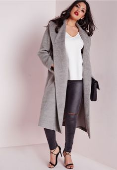 Can't you see yourself in this coat...Missguided+ is the hottest new plus size line for babes of all sizes. Dedicated to directional, strong and confident designs for sizes 16-24...