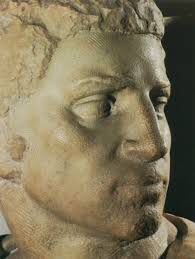 Brutus (Detail) Michelangelo Buonarroti Italian 1475-1564 1538 Italian Renaissance Marble Bargello; Florence, Italy