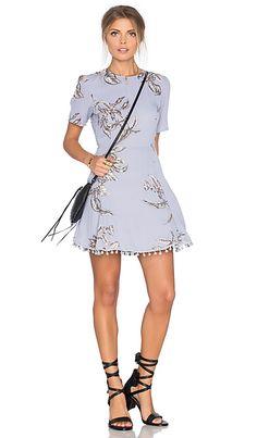 Tularosa Iris Dress in Chambray | REVOLVE