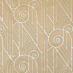 Art Deco Fabric from Bradbury & Bradbury