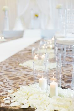 A Glamorous French Blue & White Wedding Wedding Ceremony Decorations, Table Decorations, Alter Decor, Blue White Weddings, French Blue, Perfect Wedding, Blue And White, Glamour, Detail