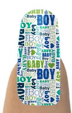 Jamberry Nail Shields, Nail Wraps - Buy Jamberry Nails Baby Boy #JamberryNails #NailShields  #NailWraps  jamberrysarah.jamberrynails.net