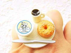 Rings inspired by the food