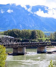 Old skeena bridge terrace bc m o u n t a i n for Terrace british columbia