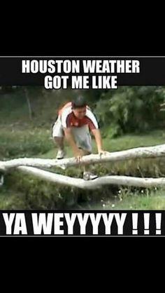 Houston Weather lol