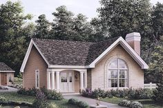 Houseplans. I could work with this. Add a half story
