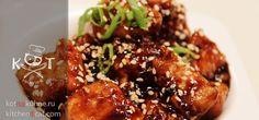 ★ Куриное филе в соевом соусе с чесноком по Дюкану ★ #курица #соевый соус #чеснок #кефир