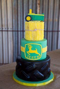 "Photo 1 of 21: Johen Deere Tractors / Birthday ""John Deere Inspired 2nd Birthday"" | Catch My Party"