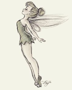 "41 Likes, 3 Comments - Federica Faye (@_______faye_______) on Instagram: ""Tink #tinkerbell #tink #pixie #pixies #disney #disneysketch #sketch #digitalart #digitalsketch…"""