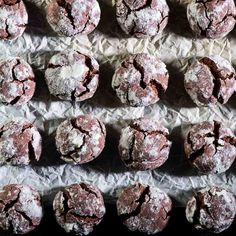 Crispy on the outside, chewy on the inside, these Chocolate Crinkle Cookies make a show stopping dessert. A not-too-sweet version of a family favourite.