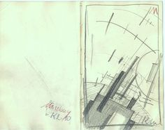 The Athenaeum - Malevich Sketchbook, # K 2 - 11 (Kasimir Malevich - )