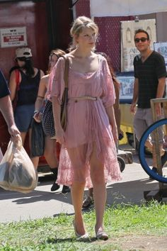 Shopping at Melrose and Fairfax Flea market in Los Angeles, California, 2011