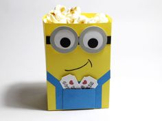 Minion Popcorn Tüte - Stampin Up