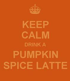 Keep Calm... drink a Pumpkin Spice Latte Love & Free Printables - EverythingEtsy.com
