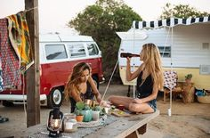 CALIFORNIA: The HolidaysIf you're looking for a throwback to the good ole days, you have to check out these 1960s trailers that are available for rent in San Clemente State Beach. Fully furnished and set in a community-oriented park area with firepits and the like, The Holidays' simpler times mobiles will have you whistling Beach Boys tunes in no time.