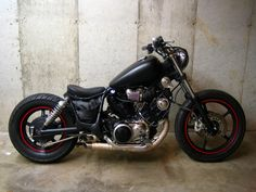 1995 Yamaha XV750 Virago Bobber. http://502streetscene.net/forum/showthread.php?t=187015