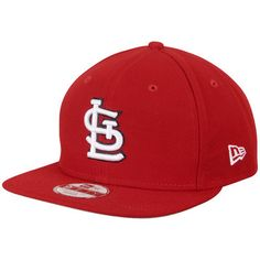 St. Louis Cardinals New Era Flag Stated 9FIFTY Adjustable Hat - Red