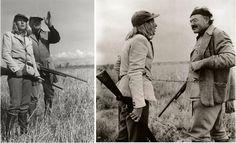 Ernest Hemingway and Slim Keith
