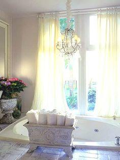 Love the bath towel holder idea.