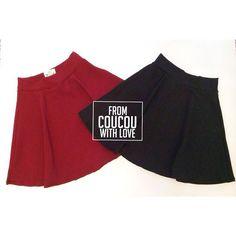 Faldas unicolor  Un básico en en nuestro closet. $60.000 c/u.  Estamos en #Cúcuta y Realizamos Envios a toda #colombia  Para  info: déjanos un inbox o llámanos al 3004172602 (Whastapp)  #coucouisrosy #coucourya #skirts #instamoda #instafashion #cucuta #bucaramanga #barranquilla #cali #medellin #manizales #ibague
