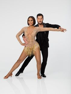 FIRST LOOK: Check Out Dancing with the Stars Season 21's Official Pairs Portraits! | Tamar Braxton and Val Chmerkovskiy |