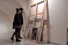 """@ChicoLopezJM #ArtInProgress """"...La obra de arte deja de ser un fin, es un medio; el arte un instante. La exposición es un continuo ejercicio de apropiación para situar al objeto artístico en su propia realidad, re-definiendo su contenido, buscando la forma de expandir más allá de sus dibujos la idea que los germina""""."""